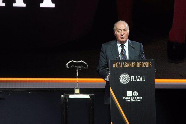 El rey don Juan Carlos durante su discurso / Casa Real