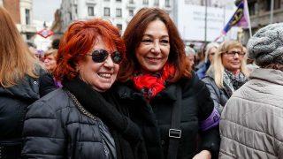 Rosa Villacastín y Ana Rosa Quintana en la lectura del manifiesto 'Las periodistas paramos' / Gtres