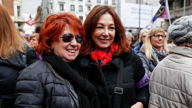 Rosa Villacastín y Ana Rosa Quintana Día de la Mujer