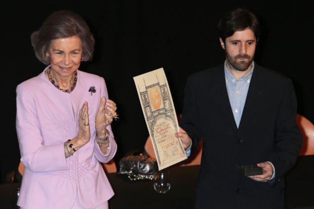 Doña Sofía en la entreqa de premio/ Gtres
