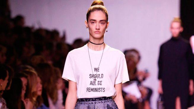 Camiseta feminista de Dior mujer