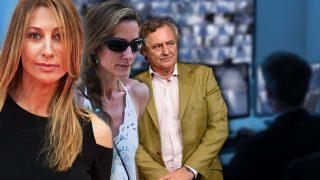 Mónica Pont, Telma Ortiz e Ignacio López del Hierro en un fotomontaje de LOOK