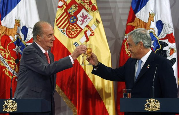 El rey Juan Carlos y Piñera / Gtres
