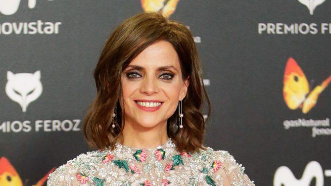 La actriz Macarena Gómez en los Premios Feroz 2018 / Gtres