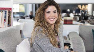Miriam Rodríguez durante la entrevista con LOOK /