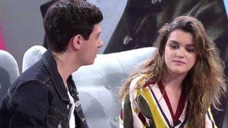Amaia y Alfred durante su visita a 'Viva la vida' /Mediaset