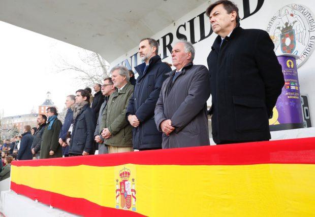 El Rey ha presidido el minuto de silencio en recuerdo a las víctimas del 11M / Casa Real