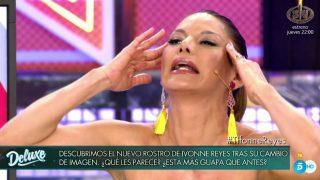 Ivonne Reyes durante su entrevista en 'Sábado Deluxe' /Mediaset