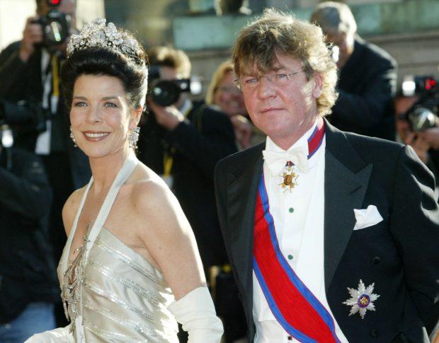 Carolina con la tiara floral de los Hannover / Gtres