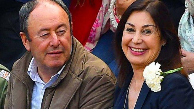 Luis Miguel Rodríguez y Carmen Martínez Bordiú