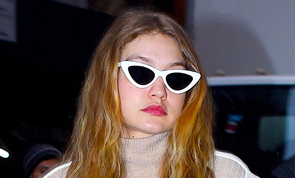 b3082e5f298aa Las gafas de Gigi Hadid completamente gratis