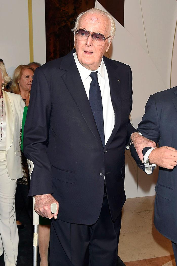 Hubert de Givenchy durante su visita a Madrid en 2014 / Gtres