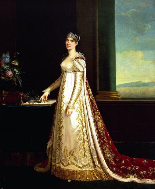 Josefina Bonaparte con la Brunswick