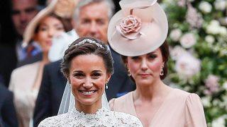 Kate Middleton en la boda de su hermana Pippa / Gtres