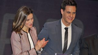 Doña Letizia y Christian Gálvez / Gtres