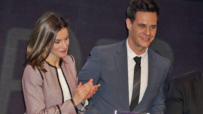Reina Letizia y Christian Gálvez