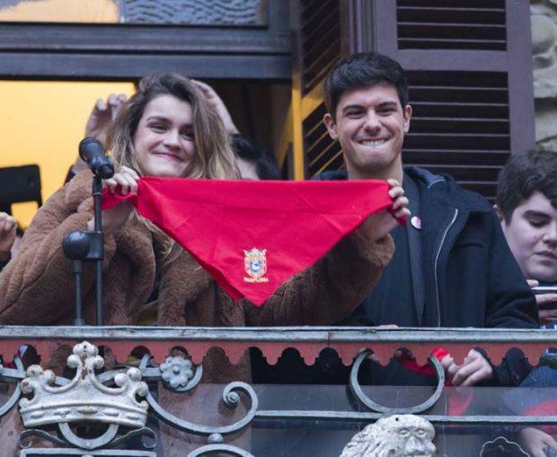 Amaia Romero y Alfred García