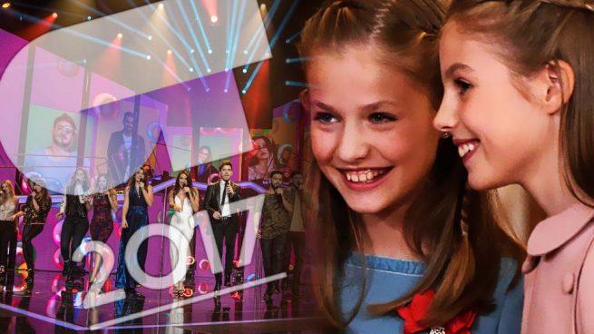 OT 2017 La princesa Leonor y la infanta Sofía