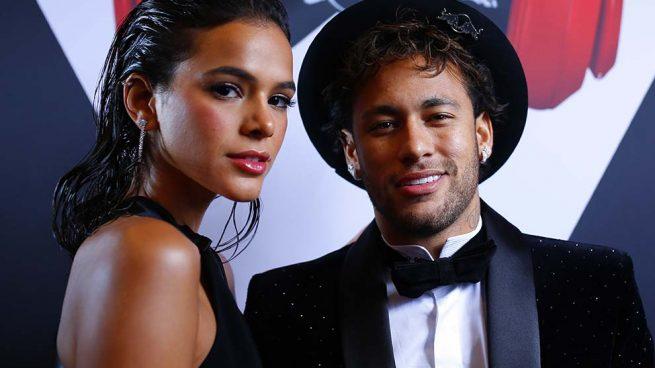 Neymar y Bruna Marquezine