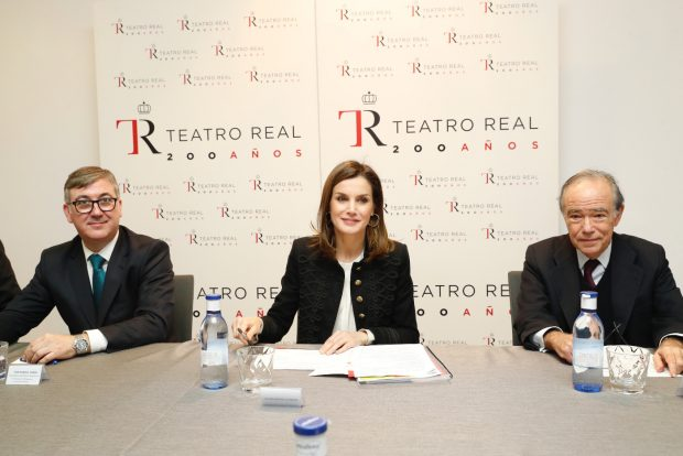 La Reina en el Teatro Real / Casa Real