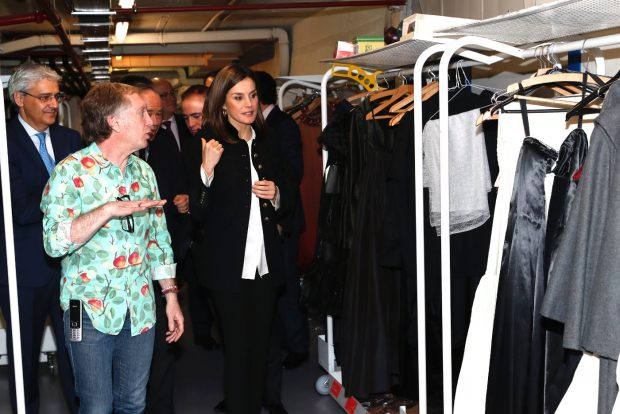 Doña Letizia 'reina' de la escena en blanco y negro