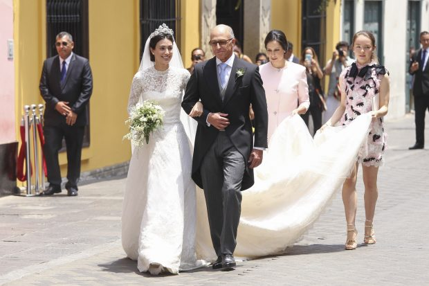 Alessandra de Osma con su padre / Gtres