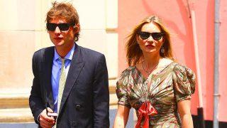 Kate Moss y Nikolai von Bismarck han sido algunos de los invitados más exclusivos de la boda/ Gtres