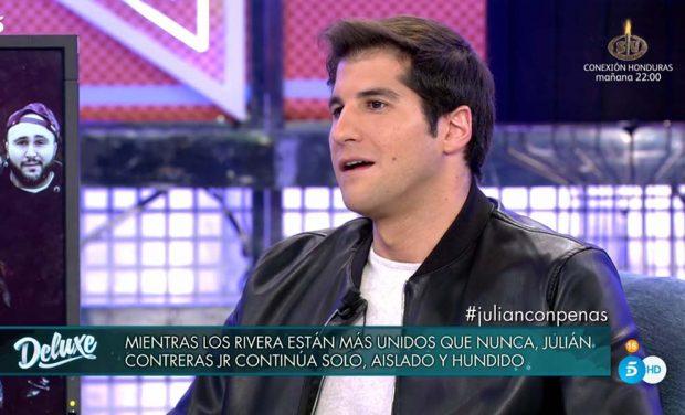 Julián Contreras y su distanciamiento con Fran y Cayetano: «No creo que el dinero sea el motivo»