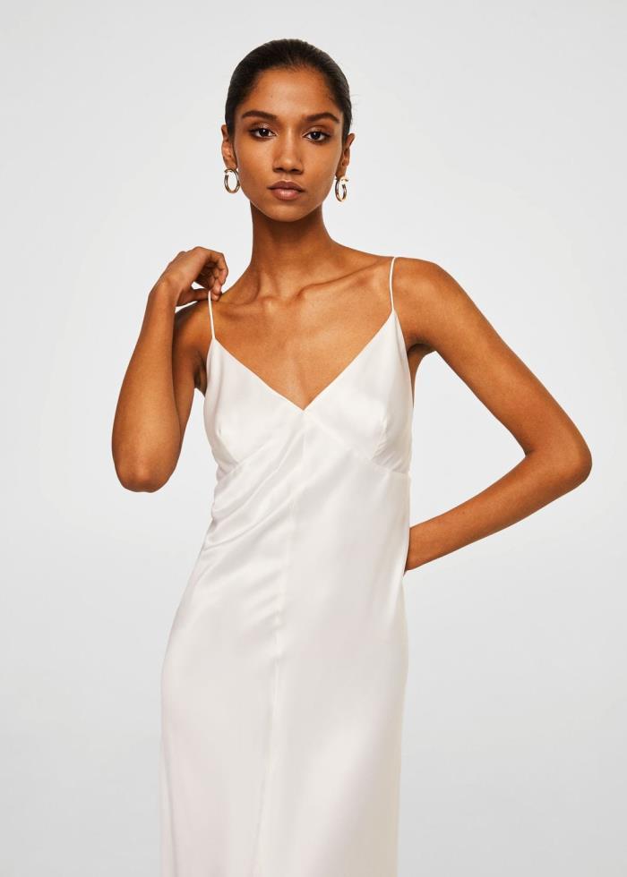 El clon 'low cost' del vestido de boda más sexy de Alessandra de Osma