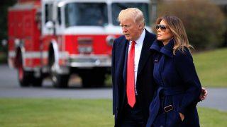 El presidente de Estados Unidos, Donald Trump, y la Primera Dama, Melania Trump. / Gtres