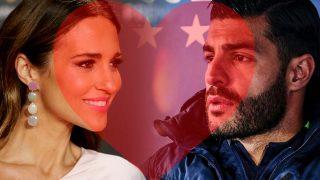 Paula Echevarría y Miguel Torres en un fotomontaje de LOOK