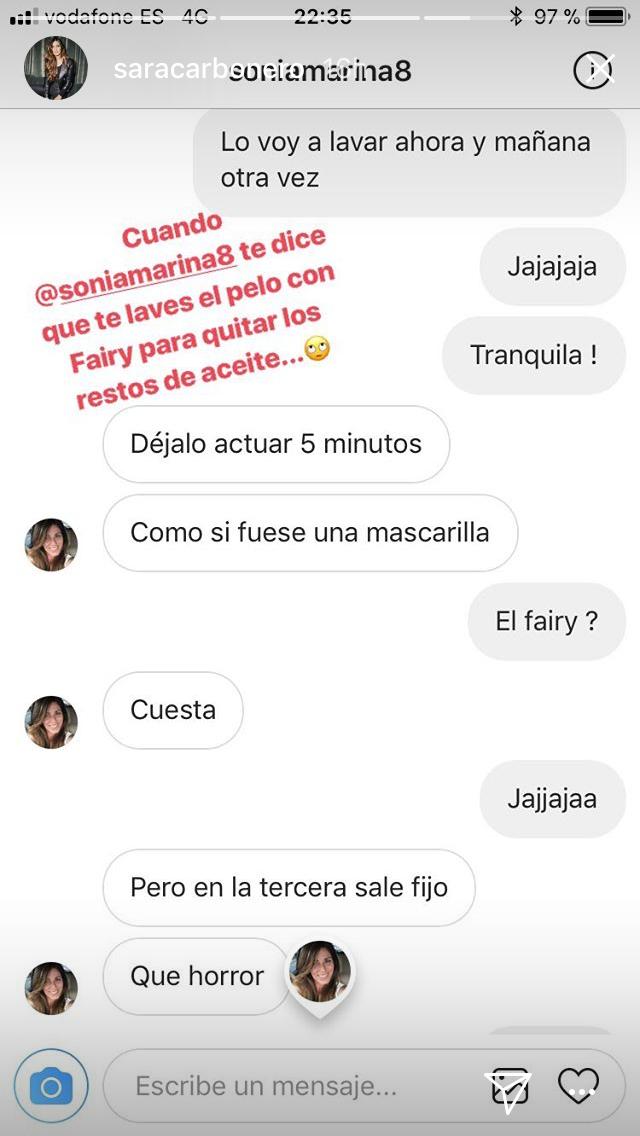 El sorprendente truco 'antigrasa' de Sara Carbonero