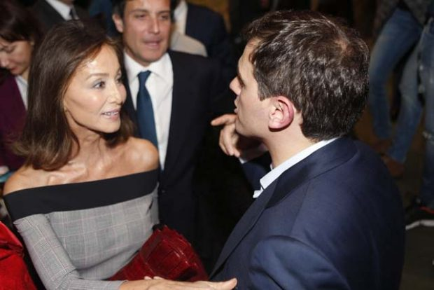 Isabel Preysler Albert Rivera