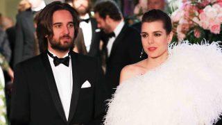 Carlota Casiraghi y Dimitri Rassam reaparecieron en el Baile de la Rosa tras conocerse su compromiso /Gtres