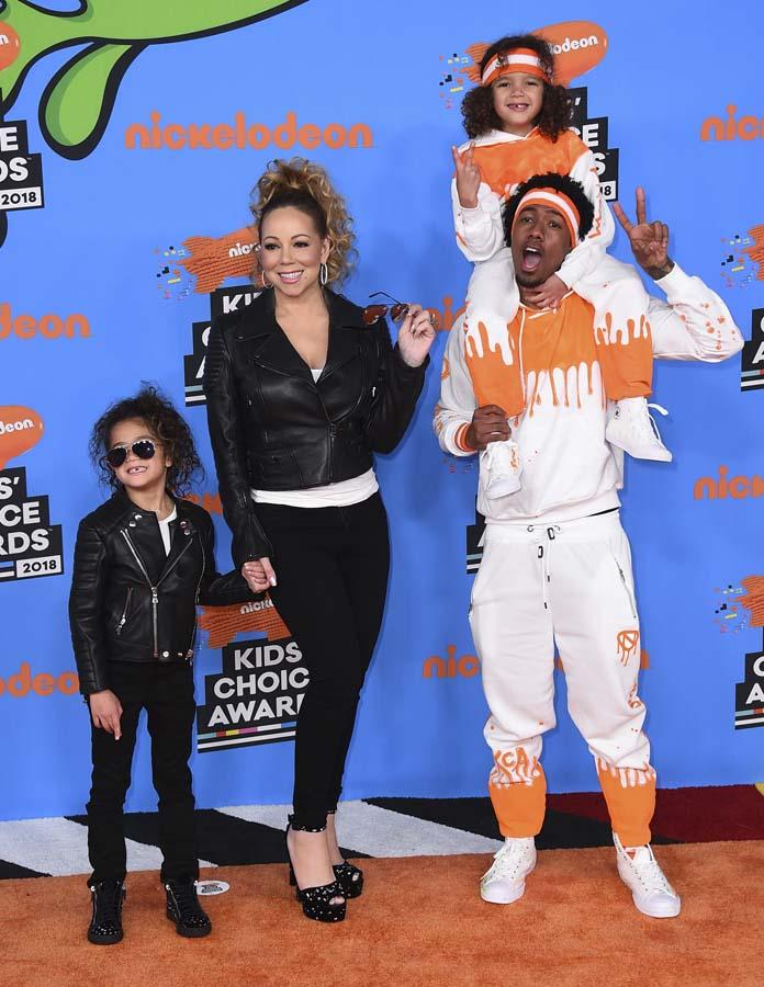 Mariah Carey, Nick Cannon, Monroe y Moroccan