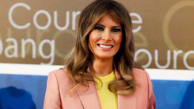 Melania Trump durante los premios 'Mujer de coraje' / Gtres