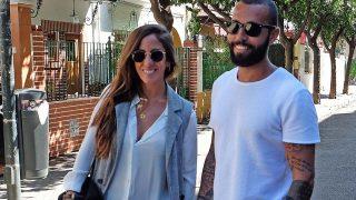 Anabel Pantoja y Omar Sánchez en la Semana Santa de Sevilla / Gtres