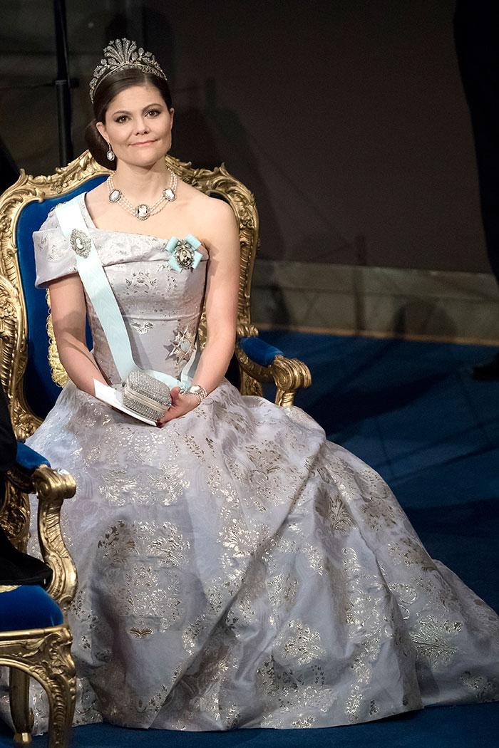 Victoria de Suecia en los Premios Nobel 2016 / Gtres
