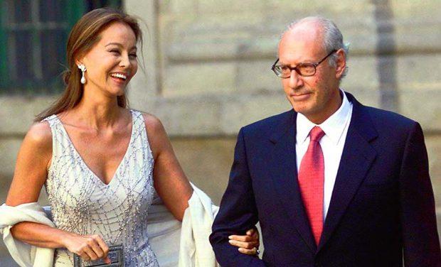 Isabel Preysler y Miguel Boyer
