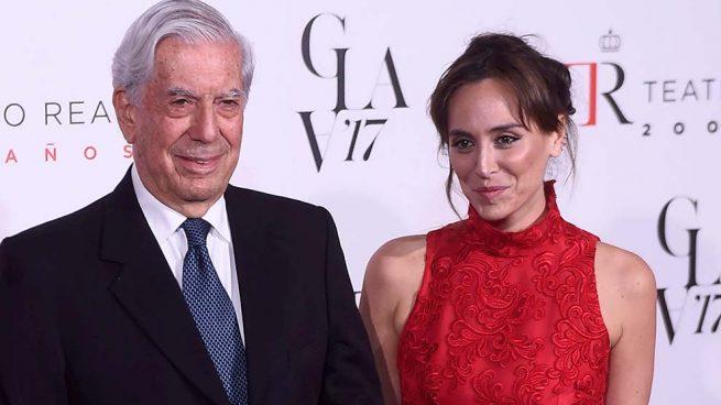 Mario Vargas Llosa y Tamara Falcó