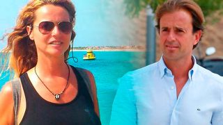 Nuria Jiménez y Josep Santacana en un fotomontaje de LOOK