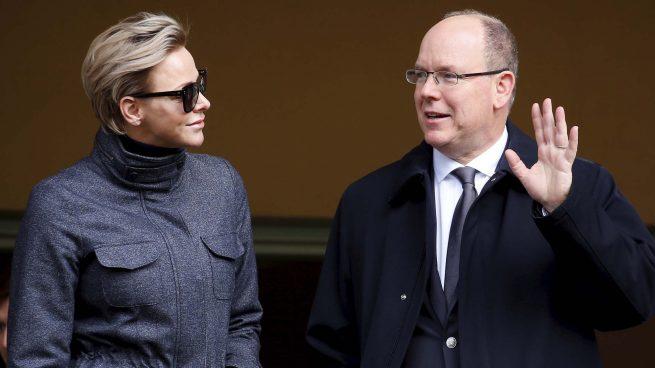 Charlène de Mónaco y el príncipe Alberto