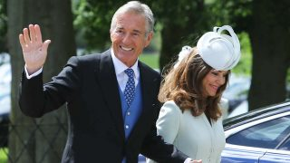 David y Jane Matthews durante la boda de su hijo con Pippa Middleton. /Gtres