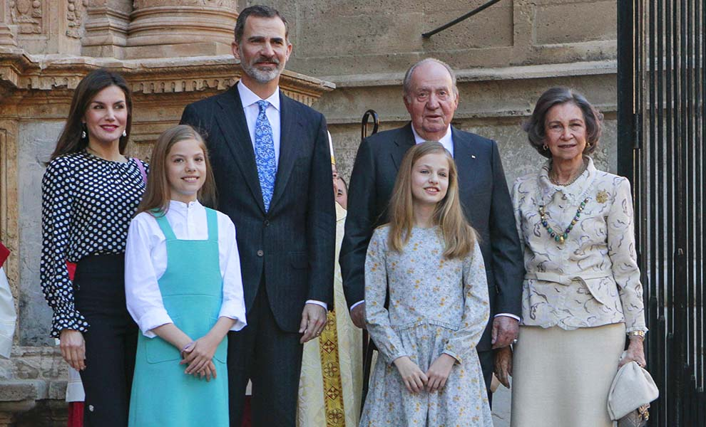 Los Reyes en la Misa de Pascua / Gtres