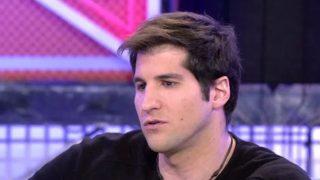 Julián Contreras durante su entrevista en 'Sábado Deluxe' /Telecinco
