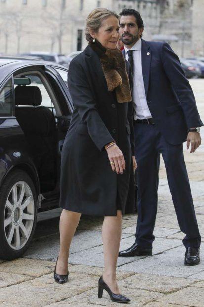 Los Reyes se reencuentran con doña Cristina a pocos días de que se confirme la sentencia de Urdangarin