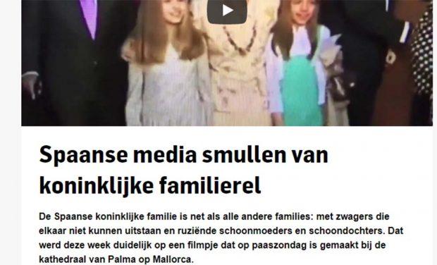 La prensa internacional 'alucina' ante el desplante de la Reina a doña Sofía