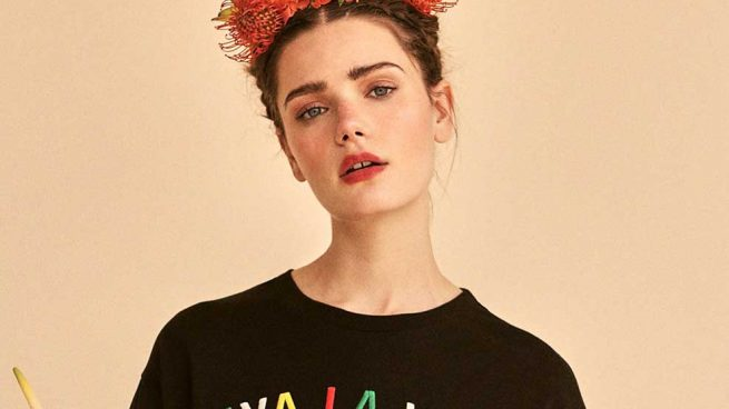 Frida Kahlo Camisetas Stradivarius