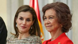 Las reinas Letizia y Sofía en una imagen de archivo / Gtres