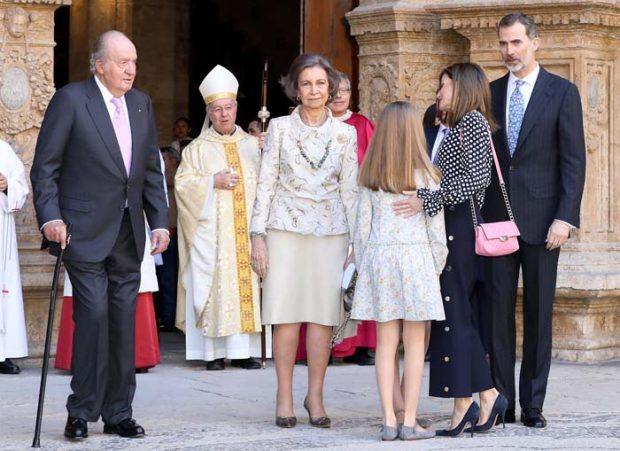 Desplante Letizia reina Sofía